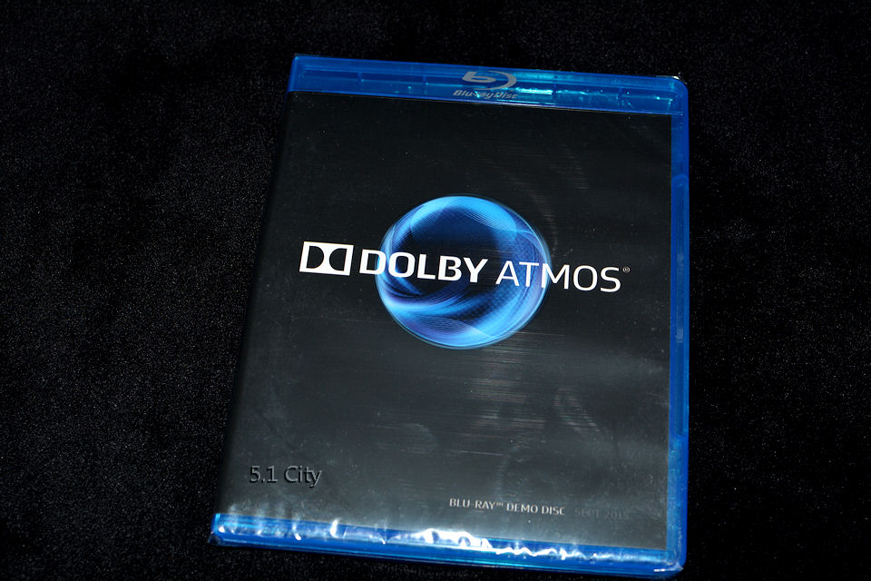 dolby atmos blu ray demo disc latest release cedia 2015 new sealed rare genuine ebay. Black Bedroom Furniture Sets. Home Design Ideas