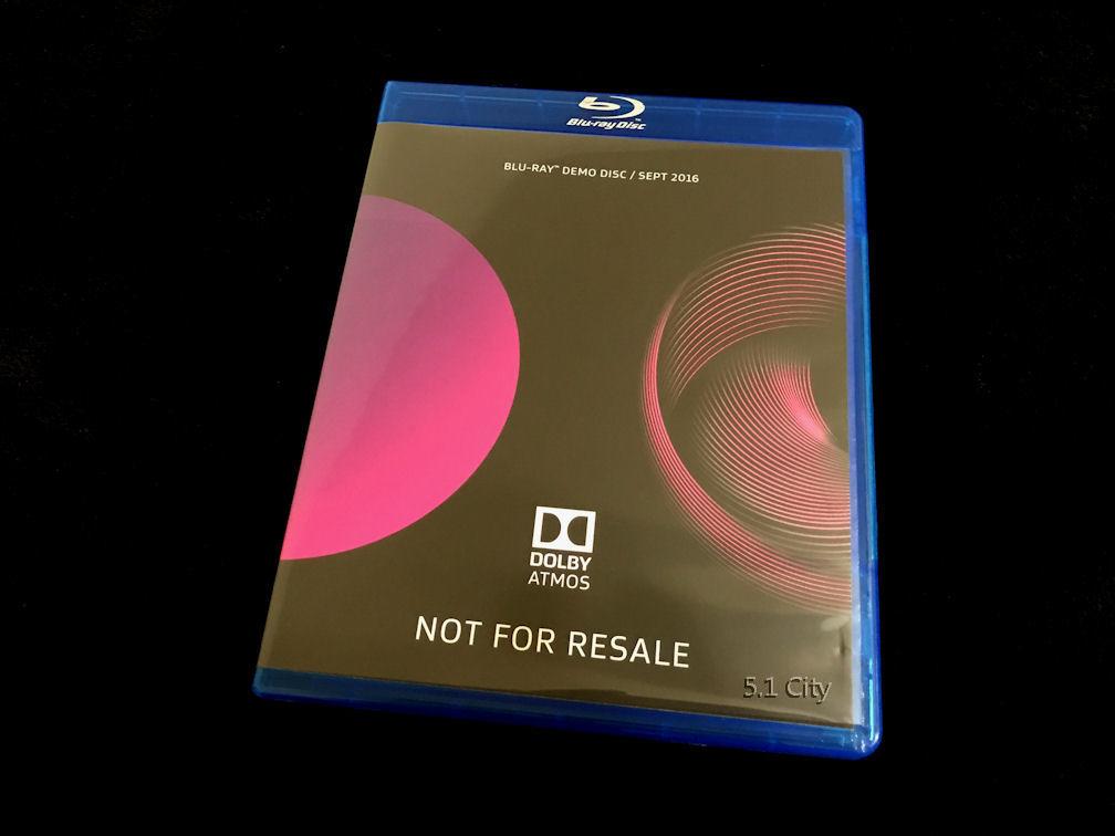 dolby atmos 7 1 demo blu ray disc sep 2016 ces 2017 genuine like new latest ver ebay. Black Bedroom Furniture Sets. Home Design Ideas